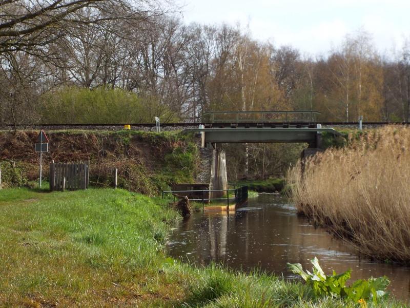 Spoorbrug over de Groote Molenbeek