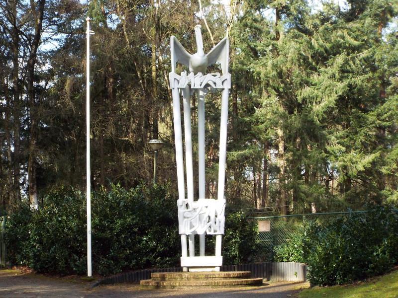 Monument als eerbetoon aan Joe Mann