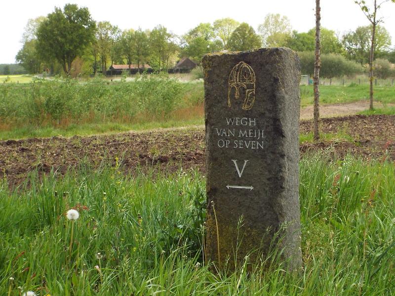 basaltzuil V van de Wegh van Meijl op Seven.