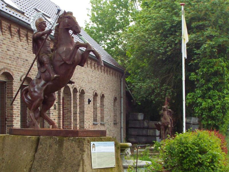 Sculptuur van Romeinse officier