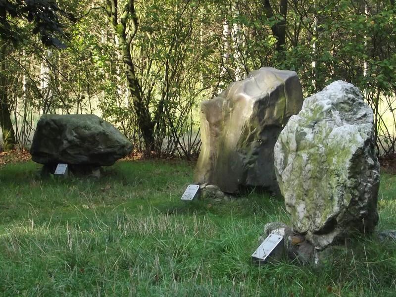 Drie van de acht Stenen der Zaligheden