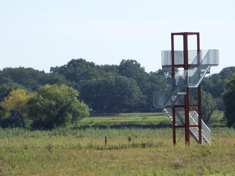 Uitkijktoren in Weerd Ooijen