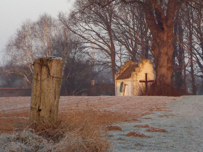 Bakhei's kapel. maar nu in een ander seizoen