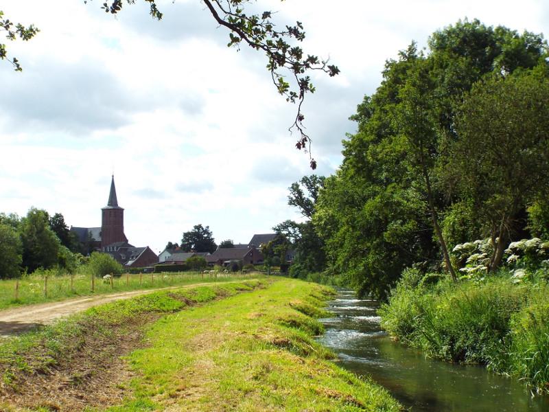 Pad langs de Groote Molenbeek in Meerlo